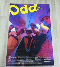 SHINee ODD Ver. A Official POSTER Unfold in a TUBE+GiftPhoto NEW shinee limited