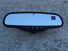 Chevrolet GMC - Dual Display Compass Temperature Rearview Mirror OEM