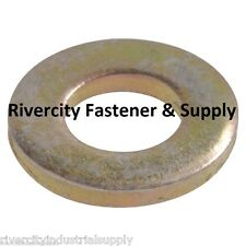 (10) 3/4 Inch Grade 8 USS Flat Washers 10 Pieces