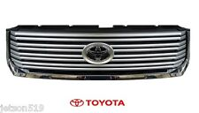Genuine Toyota Tundra 2014 2015 Limited Lower Chrome Grille  OE OEM NEW