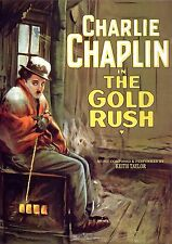 The Gold Rush (1925) Charlie Chaplin & Georgia Hale (DVD) ***BEST PIANO SCORE***