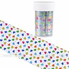 1pc Galaxy Nail Art Transfer Foil Nail Sticker Tip Decal Decoration Heart Gift