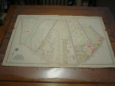 1905 CITY OF BOSTON part of Ward 23: Plate 5 w/ Centre, Orchard, Eliot st. MAP