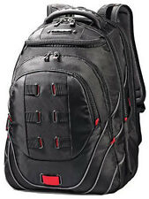 "Samsonite Luggage Tectonic 17"" Perfect Fit Laptop Backpack Black/Red"