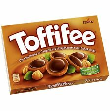 5 Boxes x TOFFIFEE (hazelnut caramel chocolate)  **Made in Germany** BEST PRICE