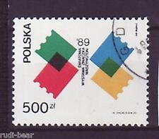 Polen Nr. 3229  gest.  Briefmarkenausstellung