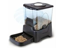 Large Automatic Dry Food Portion Control Dog Cat Pet Feeder Dispenser