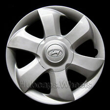 Hyundai Accent 14in hubcap wheel cover 03 04 05 06 OEM 55557 Silver