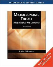 Microeconomic Theory: Basic Principles and Extensions (Nicholson And Snyder)