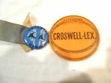 Vintage Croswell-Lex Basketball Pin & Croswell High Pin-Michigan