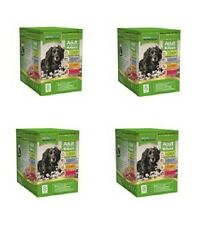 4x Boxes of 8x300g Natures Menu Dog Food Pouches - Multipack