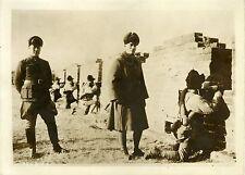 """""""CONFLIT SINO-JAPONAIS à SHAN HAI KWAN 1931"""" Photo originale G.DEVRED (Agce ROL)"""
