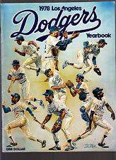 Los Angeles Dodgers 1978 Team Yearbook