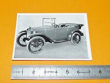 CHROMO PHOTO 1952 CIGARETTES KOSMOS SIEG ÜBER RAUM ZEIT BMW DIXI 1927