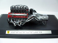 1/10 Die cast assembled  Ferrari  Enzo  engine in custom  showcase - 3L 050