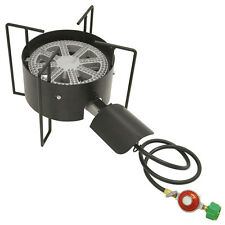 Outdoor Camping Cast Iron Propane Banjo Burner Camp Stove Cooker
