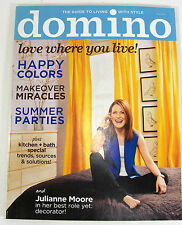 DOMINO Magazine May 2008 ALL STICKERS Miracle MAKEOVERS Kitchen & bath special
