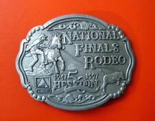 Hesston 1997 National Finals Rodeo Belt Buckle  50 Year Edition