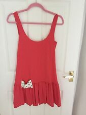 River Island Red Bow Back Dress Size 8