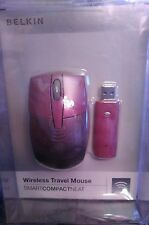 Belkin Wireless Optical Travel Mouse Portable Laptop Computer New