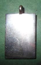 Ciondolo argento Inghilterra Londra 1958  gr. 9 (E4)