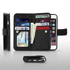 Gear Beast Dual Folio iPhone 6s Plus Wallet Case-ID & 6 Card Slots (Also 6 Plus)