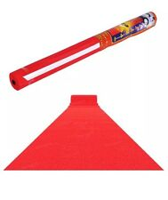 15ft x 2ft Oscars VIP Red Carpet Runner for Birth Party, Hollywood Event Disco