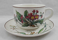 Villeroy & and Boch BOTANICA breakfast cup and saucer (black V&B stamp)