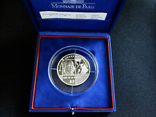 New listing 2006 France 20 Euro Benjamin Franklin 5 oz silver proof coin mintage only 500