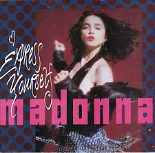 MADONNA  Express Yourself / The Look Of Love 45 with PicSleeve