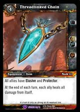 WORLD OF WARCRAFT WOW TCG REIGN OF FIRE CRAFTED : THREADLINKED CHAIN X 3