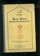 Geschichte des KÖNIGIN ELISABETH GARDE-GRENADIER -REGIMENTS NR 3 1859-1896