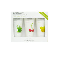 THE FACE SHOP Herb Day 365 Cleansing Special Set free gifts