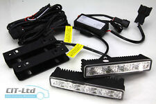 High Quality DRL Daytime Running Lights Front Daylight Lamps 4-LED CREE HQ-V9 B