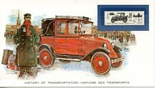 HISTORY OF TRANSPORTATION / HISTOIRE DES TRANSPORTS / LE TAXI RENAULT