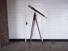 1898 Ross Of London Royal Navy Marine Telescope Teleskop Dreibein FERNROHR