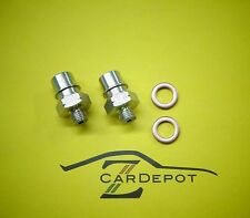 Datsun 1970-78 240Z 260Z 280Z Wilwood Brake Master Cylinder Fitting Pair NEW 052