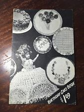 Vintage Birthday Cake Decorating Book Easy Toronto Canada Raymond Products