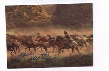 Wild West - the Art of Mort Künstler signed