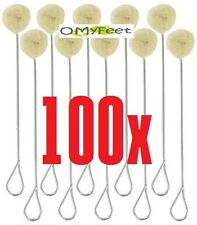 100 Wool Dauber Applicator For Dye Glue Paint LEATHERCRAFT