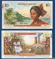 Antilles Française – 10 Francs 1964 B.7 57810 NEUF Guyane Guadeloupe Martinique