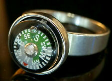 Neat-O Vintage 80's To Mod Working Compass Size 11  Ring 187MY6