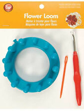 FLOWER LOOM! EASY TO DO! CREATE EMBELLISHMENTS FOR HATS~SCARVES~MORE! BOYE LOOMS