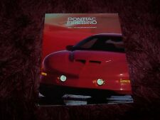 Catalogue /  Brochure PONTIAC Firebird 1996 //