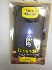 Otterbox Defender Series Case/Holster for Samsung Galaxy S7 EDGE - SR BLACK