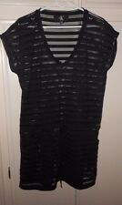 NEW, CALVIN KLEIN SHEER SWIM SUIT COVER UP DRESS, SIZE MEDIUM