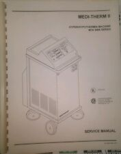 Service Manual for Gaymar Medi-Therm II 5900 Hypothermia Hyperthermia System