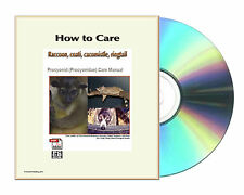 How to care Raccoon, coati, cacomistle, ringtail including Panda Manual CDROM