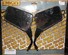 "EMGO Roadhawk 10mm Universal Motorcycle Mirror Set 20-25150 5"" Stem"