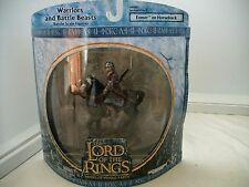 Lord of the Rings LOTR AOME Warriors and Battle Beasts Eomer on Horseback MISB